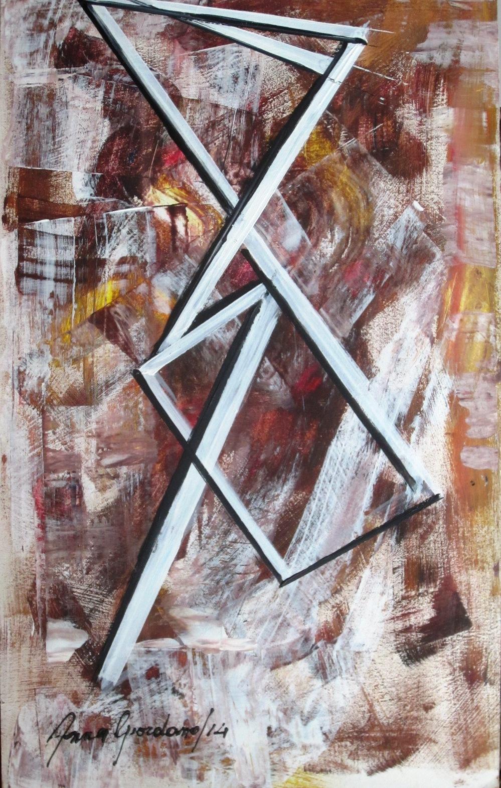acrilico su m.legno, 35x58, 2014 (dipinto sul retro), esposto 16Capri