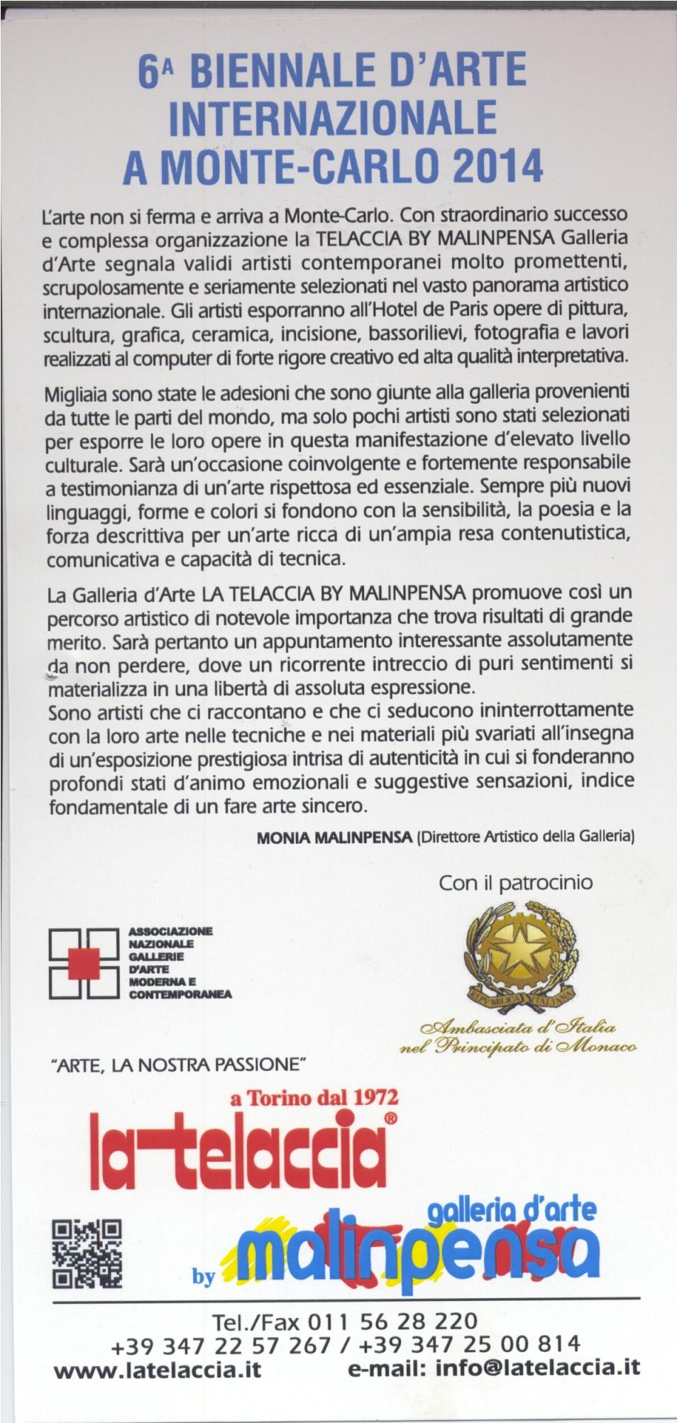 6° BIENNALE D'ARTE INTERNAZIONALE A MOTECARLO 2014.jpg
