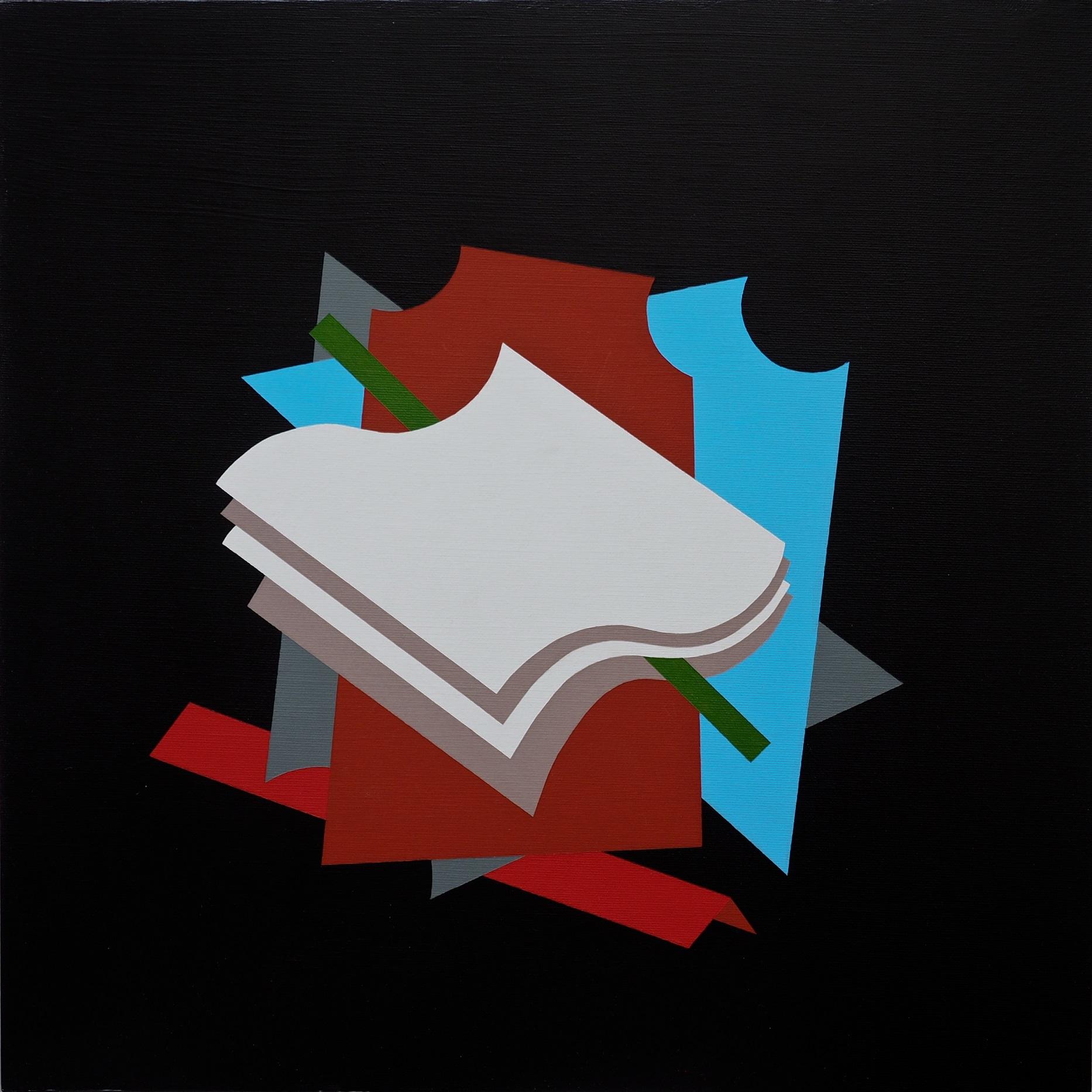 SEGNATEMPO, acrilico su tela, 50x50, 2016