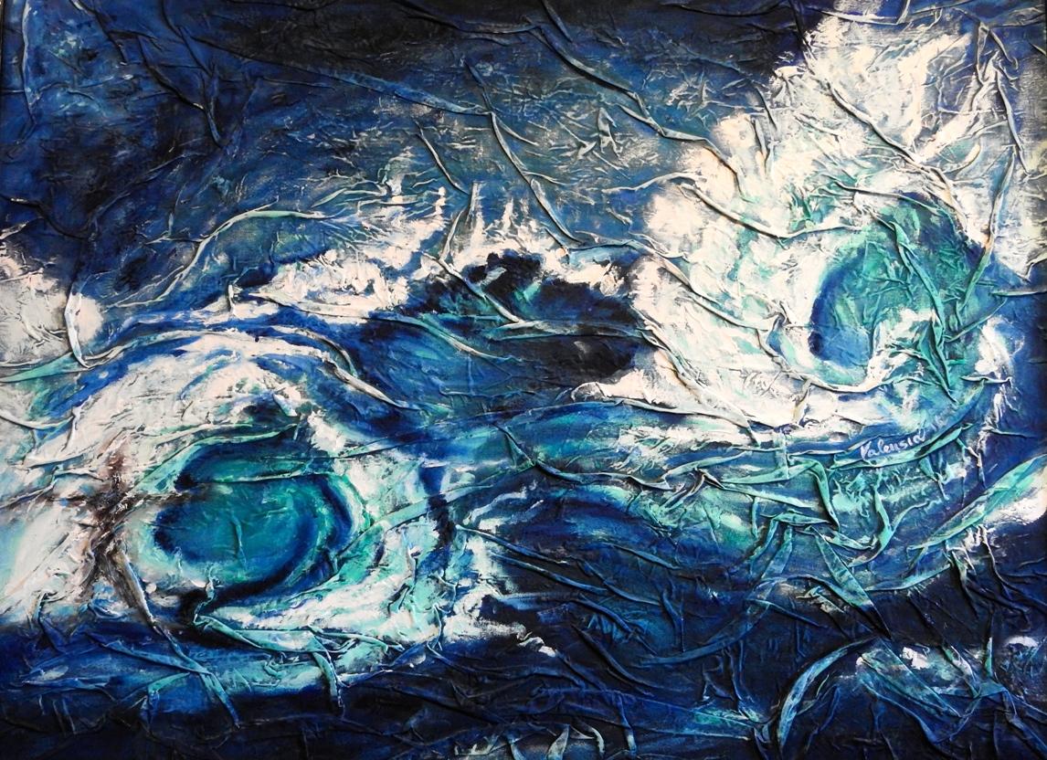 MIANI VALENTINA ENERGIA, olio a spatola, su tela di lino, 86x135, Valentina Miani.jpeg