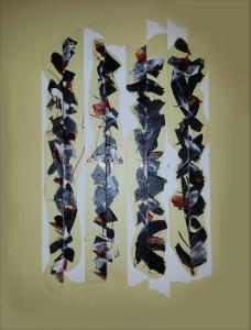 cm 70 X 60 - tecnica Mista su tela - 2015