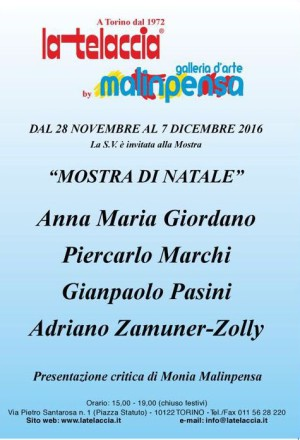MOSTRA D'ARTE DI NATALE