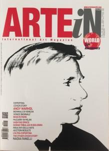 COPERTINA RIVISTA ARTE IN WORLD