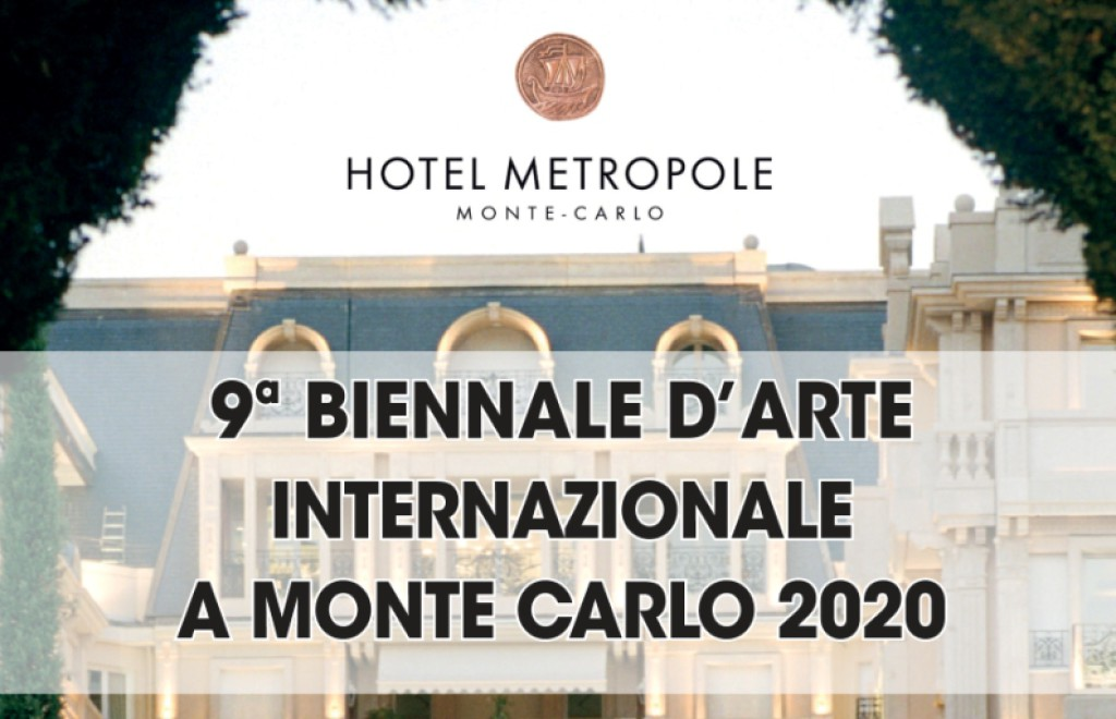 9° BIENNALE D'ARTE INTERNAZIONALE A MONTECARLO 2020
